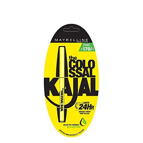 Maybelline New York Colossal Kajal (Black, 35GM)