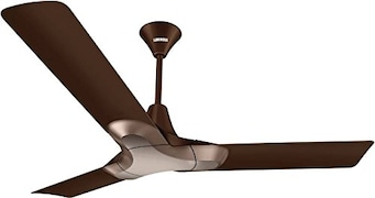 Luminous NewYork Brooklyn Ceiling Fan (Brown)