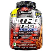 MuscleTech Nitro Tech Power Ultimate Muscle Protein Dietary Supplements (Chocolate, 1.81KG)