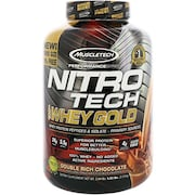 MuscleTech Nitro Tech Whey Gold Protein Dietary Supplements (Chocolate, 2.51KG)