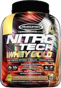 MuscleTech Nitro Tech Whey Gold Protein Dietary Supplements (Chocolate, 2.72KG)