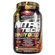 MuscleTech Nitro Tech Whey Gold Protein Dietary Supplements (Chocolate, 1.02KG)