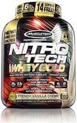 MuscleTech Nitro Tech Whey Gold Protein Dietary Supplements (Vanilla, 2.72KG)