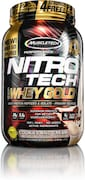 MuscleTech Nitro Tech Whey Gold Protein Dietary Supplements (999GM)