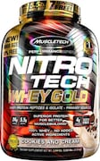 MuscleTech Nitro Tech Whey Gold Protein Dietary Supplements (Cream & Cookies, 2.51KG)