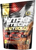 MuscleTech Nitro Tech Whey Gold Protein Dietary Supplements (Chocolate, 454GM)