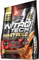 MuscleTech Nitro Tech Whey Gold Protein Dietary Supplements (Chocolate, 3.63KG)