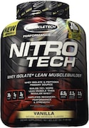 MuscleTech Nitro Tech Whey Isolate Plus Dietary Supplements (Vanilla, 1.80KG)
