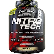 MuscleTech Nitro Tech Whey Isolate Plus Dietary Supplements (Vanilla, 1.81KG)