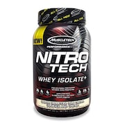 MuscleTech Nitro Tech Whey Isolate Plus Dietary Supplements (Cookies And Cream, 907GM)