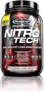 MuscleTech Nitro Tech Whey Isolate Plus Dietary Supplements (907GM)