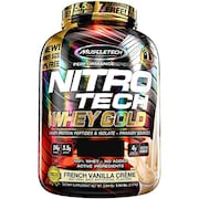 MuscleTech Nitro Tech Whey Isolate Plus Dietary Supplements (2.51KG)
