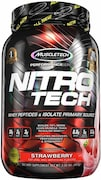 MuscleTech Nitro Tech Whey Isolate Plus Dietary Supplements (Strawberry, 907GM)