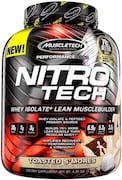 MuscleTech Nitro Tech Whey Isolate Plus Dietary Supplements (Toasted Smores, 1.81KG)