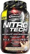 MuscleTech Nitro Tech Whey Isolate Plus Dietary Supplements (Toasted Smores, 907GM)