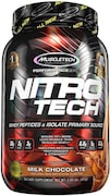 MuscleTech Nitro Tech Whey Isolate Plus Dietary Supplements (Milk Chocolate, 907GM)