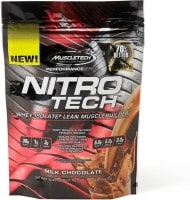 MuscleTech Nitro Tech Whey Isolate Plus Dietary Supplements (Milk Chocolate, 454GM)