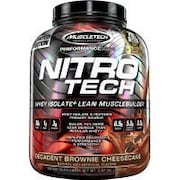 MuscleTech Nitro Tech Whey Isolate Plus Lean Musclebuilder Dietary Supplements (1.81KG)