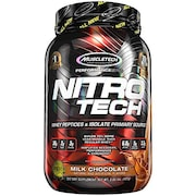 MuscleTech Nitro Tech Whey Isolate Plus Lean Musclebuilder Dietary Supplements (Chocolate, 907GM)