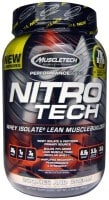 MuscleTech Nitro Tech Whey Isolate Plus Lean Musclebuilder Dietary Supplements (907GM)