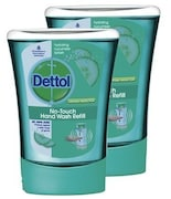 Dettol No-Touch Hydrating Cucumber Splash Hand Wash Refill (250ML, Pack of 2)