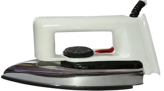 Bentag Non-Stick Dry Iron (White)