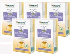 Himalaya Nourishing Cream And Honey Soap (75GM, Pack of 5)