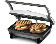 Nova NSG-2439 Grill Sandwich Maker (Silver)