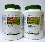 Amway Nutrilite All Plant Protein Powder (1KG, Pack of 2)