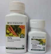 Amway Nutrilite Daily And Alfalfa Calcium Plus (90 Tablets)