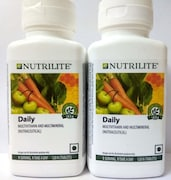 Amway Nutrilite Daily Multivitamin And Multimineral (120 PCS, Pack of 2)