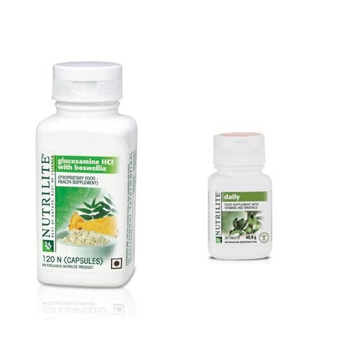 Amway Nutrilite Glucosamine HCL With Boswellia (120 PCS)