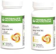 Herbalife Nutrition Afresh Energy Drink Mix (Lemon, 50GM, Pack of 2)