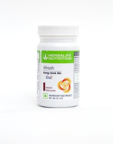 Herbalife Nutrition Afresh Energy Drink Mix (Elaichi, 50GM)
