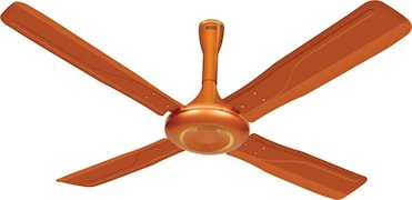 Luminous Obsession Ceiling Fan (Copper)