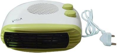 Orpat OEH-1260 Fan Room Heater (Green)
