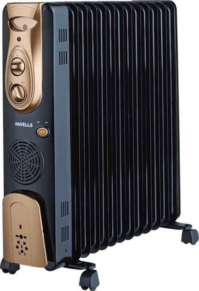 Havells OFR 13 Oil Filled Room Heater (Black)