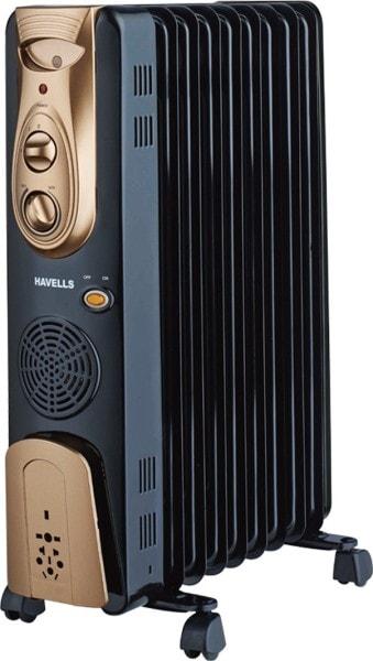 Havells OFR 9 Oil Filled Room Heater (Black)