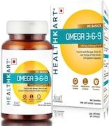 HealthKart Omega 3-6-9 Capsules (90 PCS)