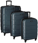 Samsonite Omni PC Spinner Luggage (Teal, Pack of 3)