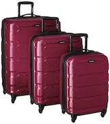 Samsonite Omni PC Spinner Luggage (Radiant Pink, Pack of 3)