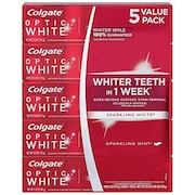 Colgate Optic White Sparkling White Toothpaste (142GM, Pack of 5)