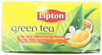 Lipton Orange Passionfruit And Jasmine Green Tea (20 Pieces)