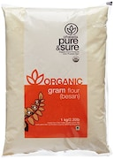 Pure & Sure Organic Besan (1KG)