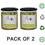 The Indian Chai Organic Senna Leaves Herbal Tea (100GM, Pack of 2)