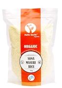 Hello Earth Organic Sona Masuri Rice (1KG)