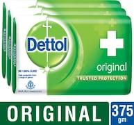 Dettol Original Bar Soap (125GM, Pack of 3)