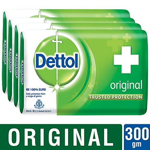 Dettol Original Bar Soap (75GM, Pack of 4)