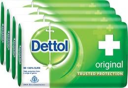 Dettol Original Bar Soap (300GM, Pack of 4)