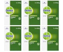 Dettol Original Bar Soap (100GM, Pack of 6)